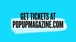Pop-Up Magazine Winter Tour 2020 Promo