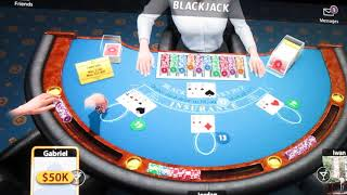 Blackjackist - by Kama Games - This game CHEAT make you buy the Chips - Video 1 screenshot 3
