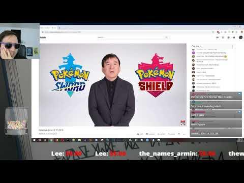 PCP React to Pokemon Sword and Shield Reveal - POKEMON DIRECT STREAM! thumbnail
