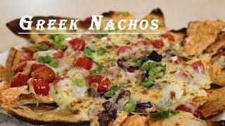 Greek Style Nachos