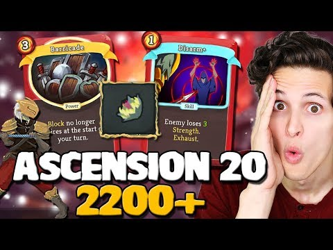 Slay The Spire  Ironclad Ascension 20!  Double Act 3 Boss
