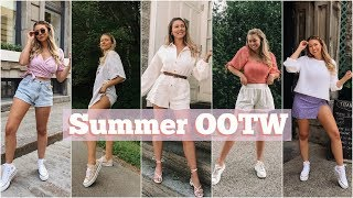 Summer Outfit Ideas! // OOTW