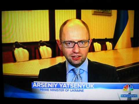 Arseniy Yatsenyuk gets Angry