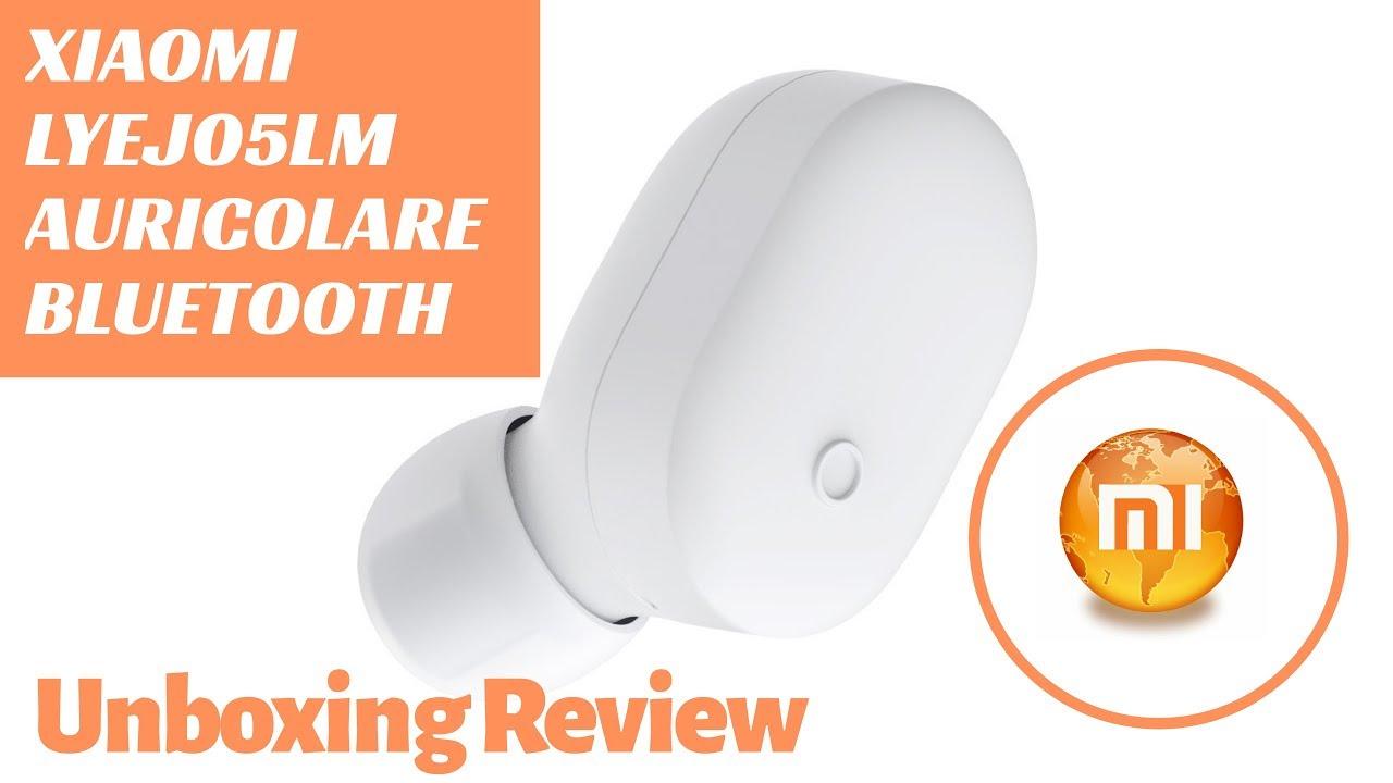18e327f7a09 Xiaomi LYEJ05LM Mini Bluetooth Headset In-ear Review & Unboxing ...
