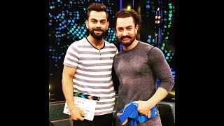 Aamir Khan & Virat Kohli Full Interview - Virat Kohli Accepts Love For Anushka Sharma.