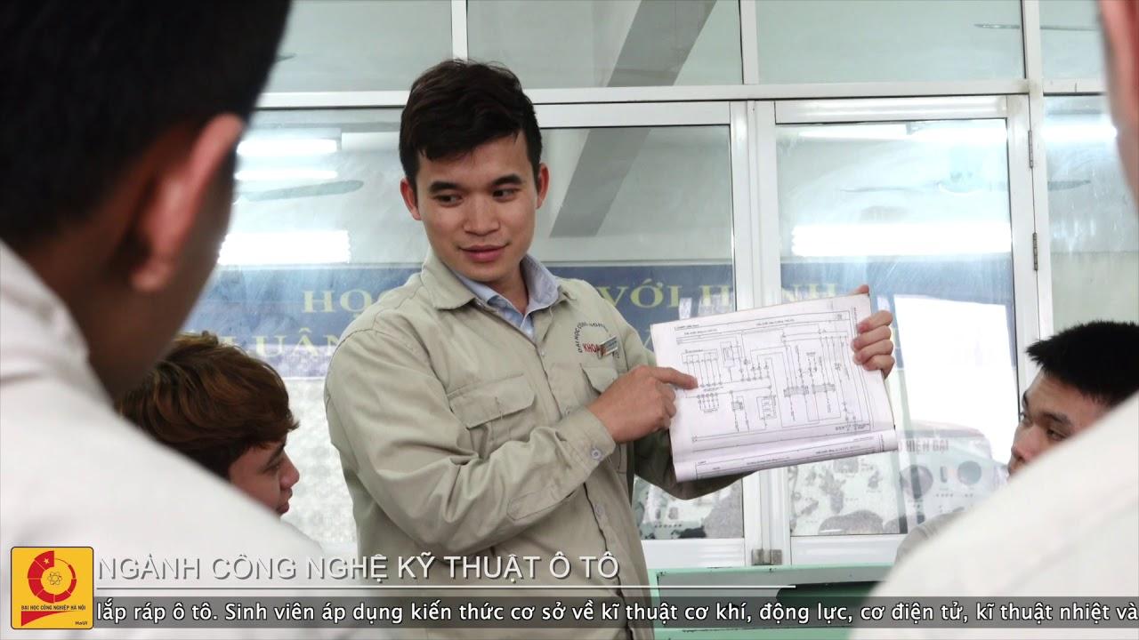 Ngành Công nghệ Kỹ thuật Ô tô | Đại học Công nghiệp Hà Nội