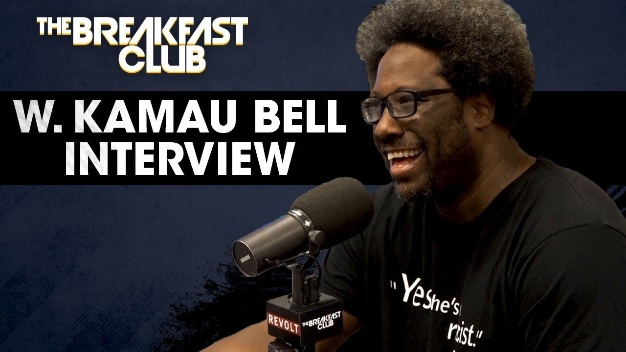 Image result for w kamau bell the breakfast club