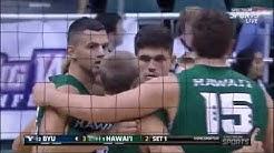 #1 Hawaii vs #2 BYU Game 2  | NCAA Men Volleyball 2020,Mar 6
