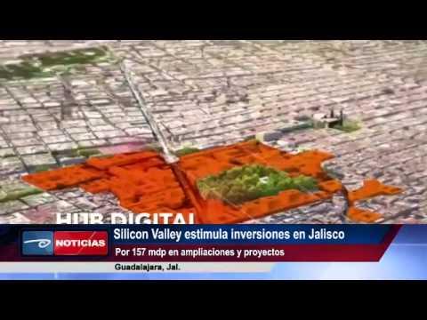 Guadalajara.- Silicon Valley estimula inversiones en Jalisco Por 157 mdp en ampliaciones y proyectos