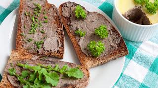 Chicken Liver Pate (Pâté) With Port Wine Recipe