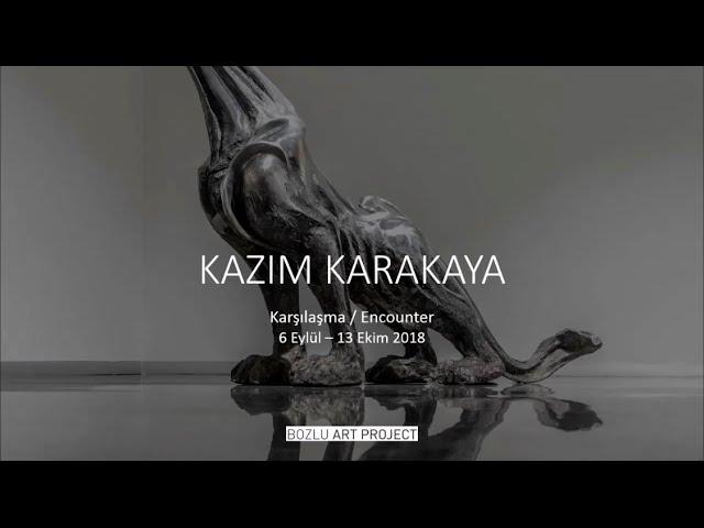Bozlu Art Project  Sergilerinden: Kazım Karakaya | Karşılaşma