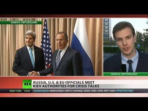 Russia and Ukraine reach deal at Geneva meeting