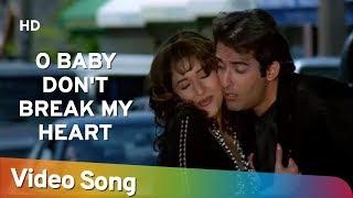 O Baby Don't Break My Heart (HD) | Mohabbat (1997) | Akshay Khanna | Madhuri Dixit | Bollywood Song
