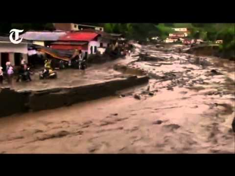 In Colombia, flooding and landslides, 19 05 2015