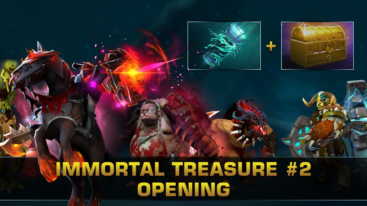 Immortal Treasure Ii Dotafire: Immortal Treasure 2 Opening With Neil (x46