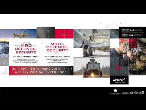 #SIAMTL2020 | Journée sur la MRO et la Défense & Sécurité
