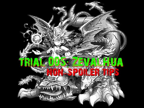 Brave Frontier - Trial 005 Zevalhua (One Team / No 7*s)