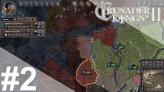 Crusader Kings 2 — #2 Война с язычниками, смерть жены, денег нет [Рюриковичи]