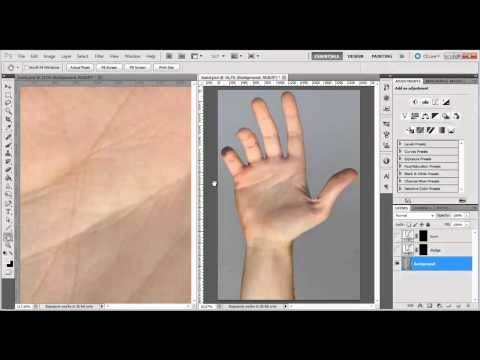 Speed up your retouching (workspace)