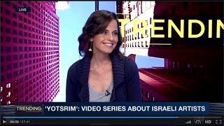 Shachaf Dekel on i24 NEWS | שחף דקל בראיון על י(ו)צרים