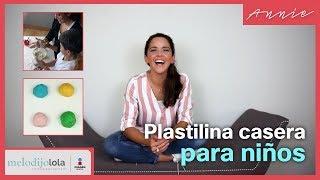 Como hacer plastilina casera SEGURA para los niños | Me lo dijo Lola