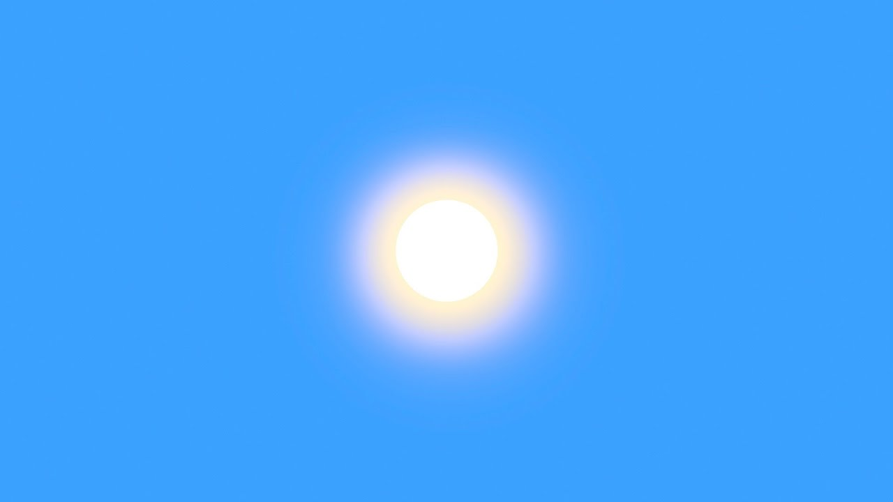 Image result for sun changing color yellow to white