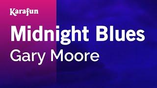 Karaoke Midnight Blues - Gary Moore *