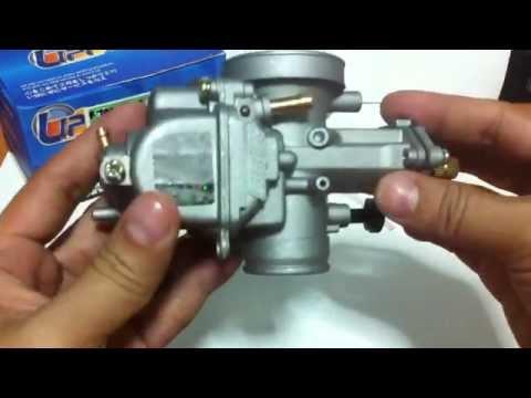 รีวิว คาร์บูเคเหลี่ยม KR150 (SQUARE)Carburetor