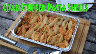 Crab Stuffed Pasta Shells. An age old family recipe.