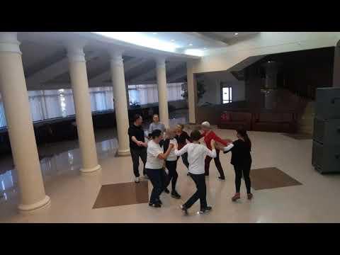 Как отдыхающие в санатории  Русь танцуют  ВАЛЬС