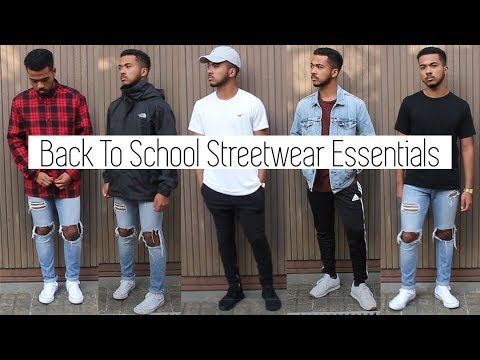 My Top 10 Back To School Streetwear Essentials || High schoo