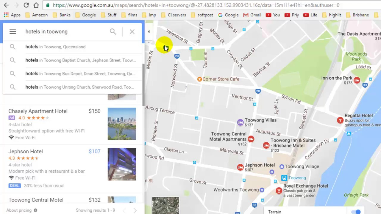 How To Find Hotels And Restaurants In Google Maps