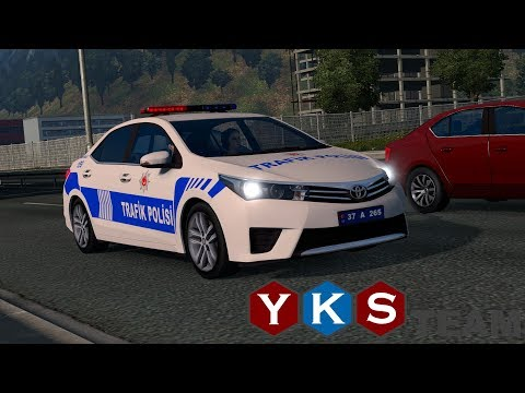 Trip to Turkey on new YKS Team EU Map on ETS2 part 1