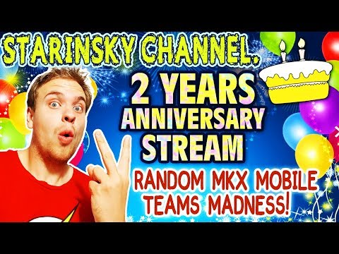 Random Teams Madness in MKX Mobile. 2 YEARS CHANNEL ANNIVERSARY LIVE Stream + BIGGEST Souls Giveaway