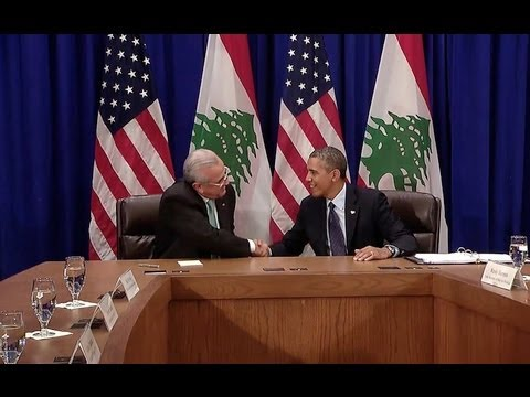 President Obama's Bilateral Meeting with President Sleiman of Lebanon