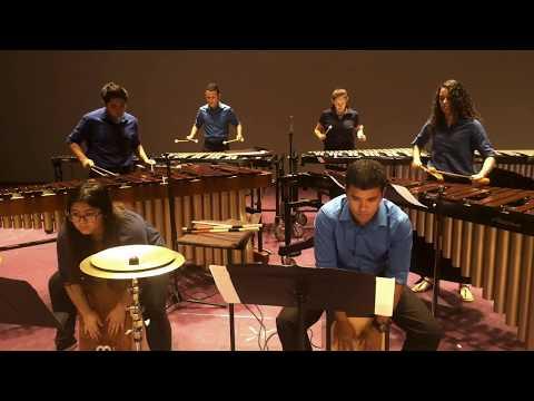 University High School Percussion Ensemble 2017--Catching Shadows