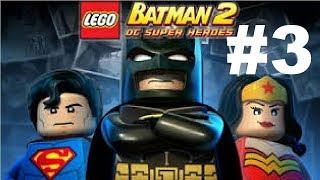 LEGO Batman 2 DC Super Heroes | PART 3 | The Maze of Death