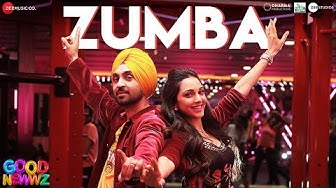 Zumba - Good Newwz   Diljit Dosanjh & Kiara Advani   Tanishk Bagchi   Romy   Vayu