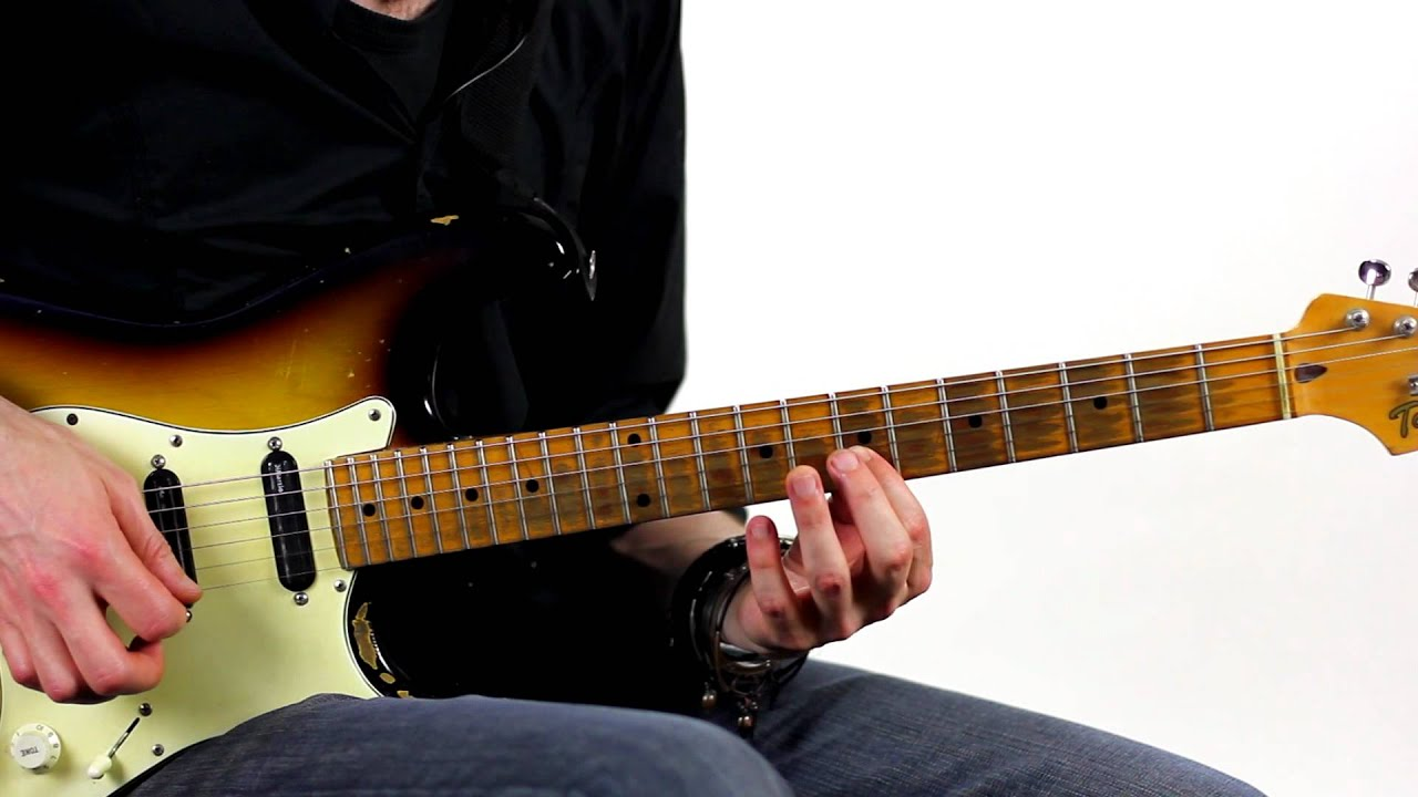 Last Licks Open Strings Lesson With Martin Goulding
