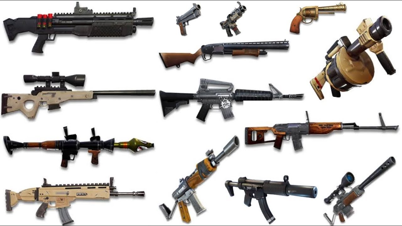 Fortnite Weapons List Worst To Best Based Off A Noob Youtube