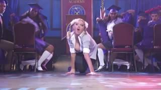 Kate Upton channels her inner Britney Spears