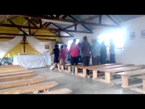 Kisongo church choir singing