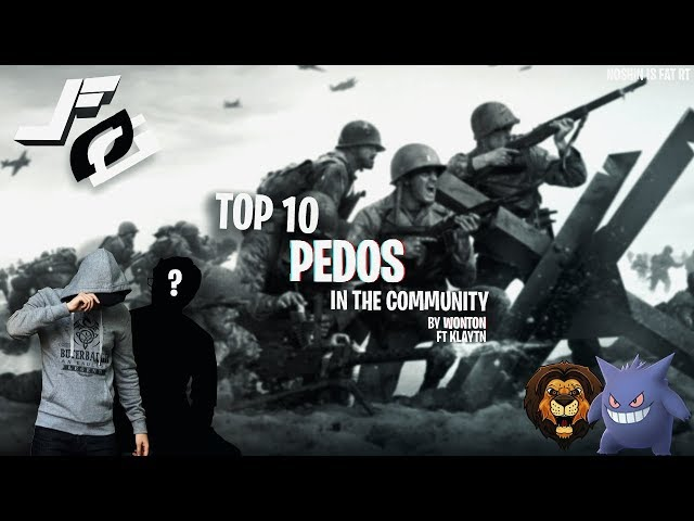 TOP 10 PEDOS IN THE COMMUNITY | @vvntns @kiaytns