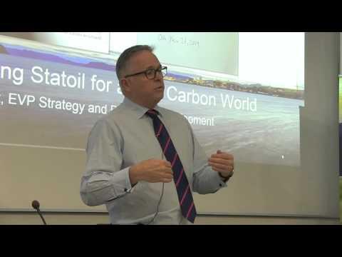 Preparing Statoil for a low carbon world - John Knight