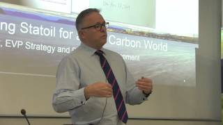 Preparing Statoil for a low carbon world - John Knight