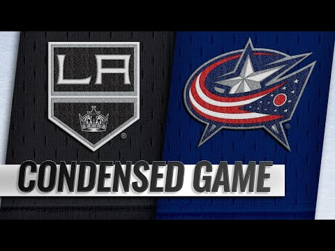 12/13/18 Condensed Game: Kings @ Blue Jackets