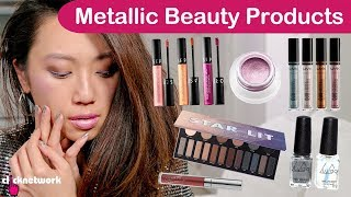 Metallic Beauty Products - Tried and Tested: EP137
