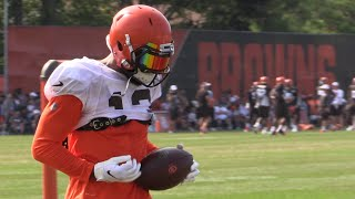 Odell Beckham highlights on Day 11 of Browns training camp