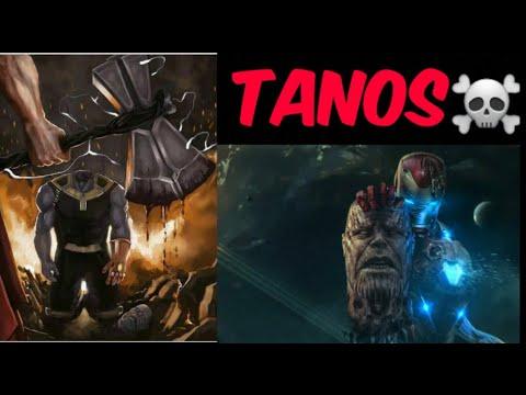 Tanos Qo'rqadigan 5 Ta Superqahramonlar (Kapitan Marvel, Tor, Vanda, Temir Odam, Kapitan Amerika)