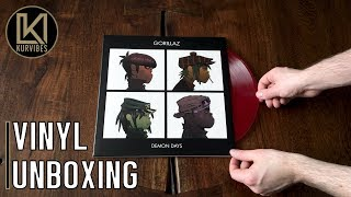 Gorillaz – Demon Days Vinyl Unboxing | KurVibes